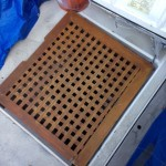 This grating was almost a perfect fit.  It has me curious which boat it came from?