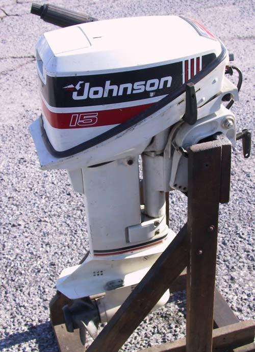 This is a very light outboard, the same engine as their 9.9 with an upgraded carburetor